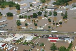 جاری شدن سیل در ایالت تنسی آمریکا/۲۲ تن کشته و دهها تن مفقود شدند