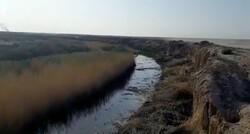 آغاز سومین مرحله لایروبی زاینده رود در شرق اصفهان/ لجنهای نفتی جمع آوری شد
