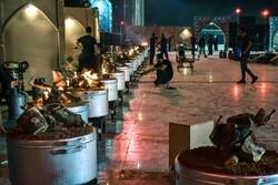 نذرواره حسینی پخت ۷۲ دیگ غذا در گنبدکاووس
