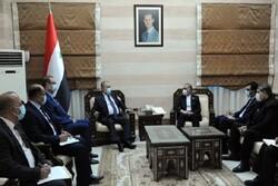 رئيس الوزراء السوري يجري محادثات مع السفير الايراني بدمشق