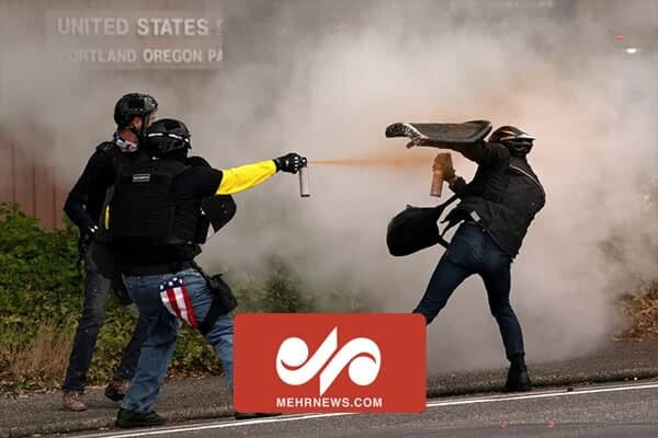 VIDEO: Clashes between far-right, far-left groups in Portland