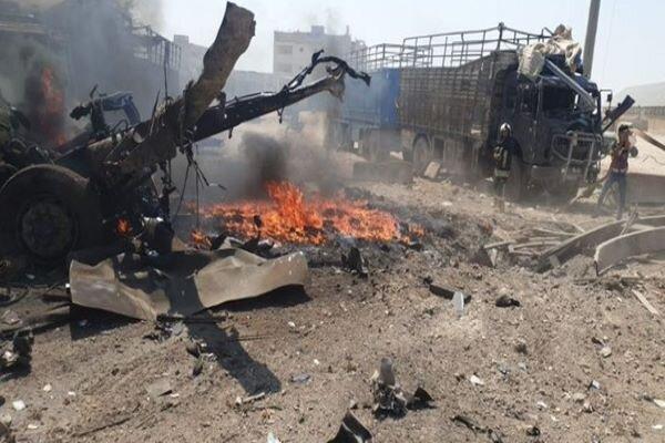 Truck bomb exploded near Syria's Aleppo(+video)