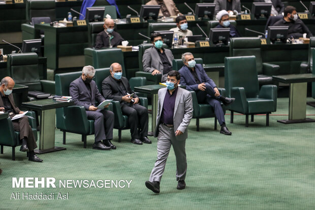 Parliament Mon. session to review Raeisi's cabinet