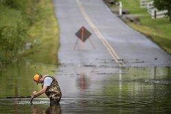 ABD'deki sel felaketinde kayıp sayısı arttı