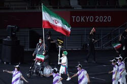 Iranian athletes finish work at Paralympics with 24 medals