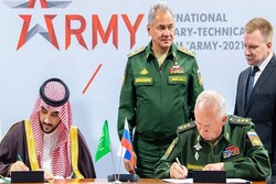 S. Arabia, Russia sign deal to develop joint military coop.