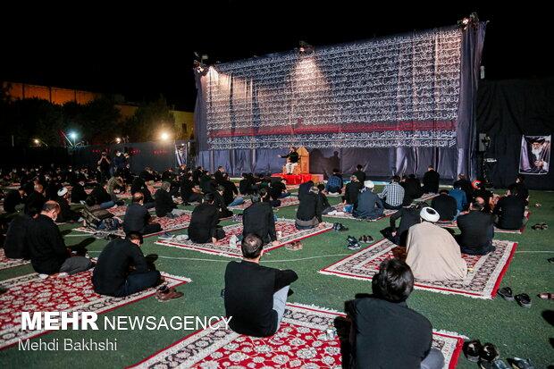 Journalists, artists of Qom observe Muharram ceremonies