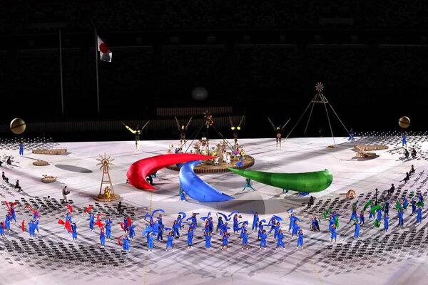 VIDEO: Iran para-athletes parade in Tokyo Paralympics