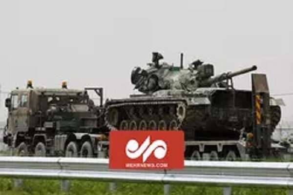 VIDEO: Israeli armored personnel carrier overturned