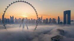 بزرگترین چرخ و فلک جهان در دبی