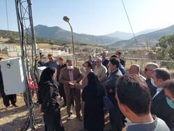 افتتاح اولین ایستگاه پایش گرد و غبار هواشناسی غرب کشور در بانه