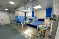 بیمارستان سیار ۱۲۸ تختخوابی سپاه در کرمانشاه به بهرهبرداری رسید