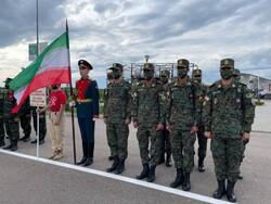 إيران وروسيا تتقاسمان البطولة في مسابقات الغوص للجيش