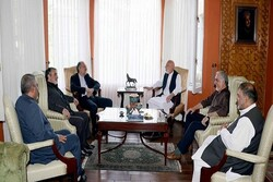 Iran envoy, Karzai underscore forming inclusive Afghan govt.