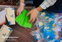 دانشجویان خراسان شمالی هزار بسته بهداشتی توزیع کردند