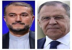 لافروف يهنئ عبداللهيان بعد منحه الثقة من قبل مجلس الشورى الإسلامي