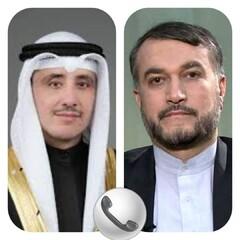 İran ve Kuveyt dışişleri bakanları telefonda görüştü