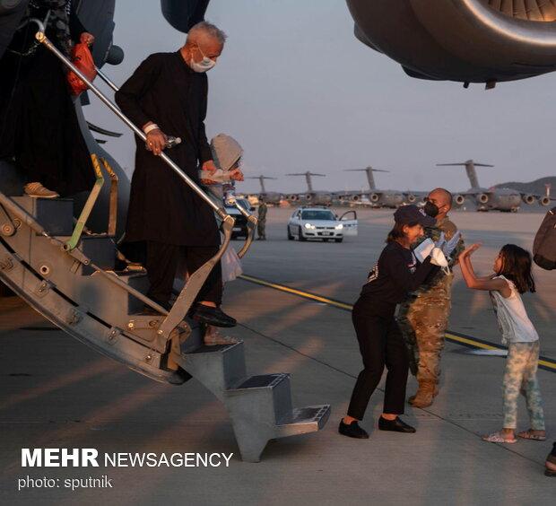 ورود پناهجویان افغانی به کشورهای مختلف جهان