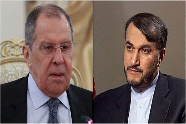 Lavrov congratulates Amir-Abdollahian on becoming Iran FM