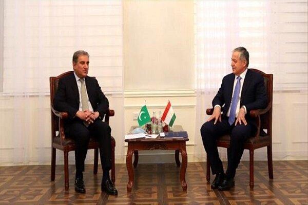 وزرای خارجه تاجیکستان و پاکستان
