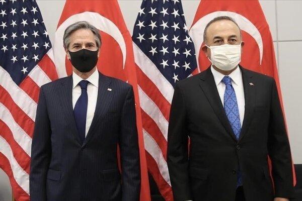 گفتگوی تلفنی وزرای خارجه ترکیه و آمریکا پیرامون تحولات افغانستان