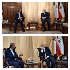 امیر عبداللہیان اور جواد ظریف کی خصوصی ملاقات