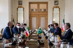 Iranian, Pakistani FMs hold meeting