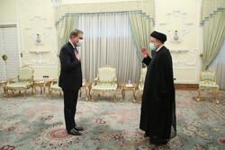 پاکستانی وزیر خارجہ کی ایران کے صدر سید ابراہیم رئیسی سے ملاقات