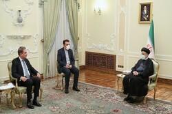 رئيسي: طهران مستعدة لتطوير العلاقات الإقتصادية مع اسلام آباد