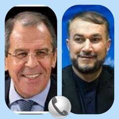 لافروف وأمير عبد اللهيان يبحثان هاتفيا العلاقات الثنائية والوضع في افغانستان