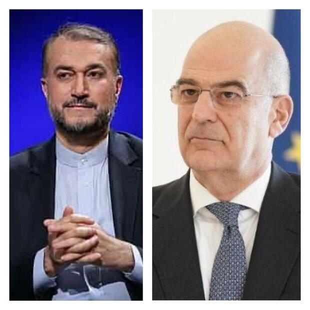 Greece, Syria FMs congratulate new Iran FM Amir-Abdollahian