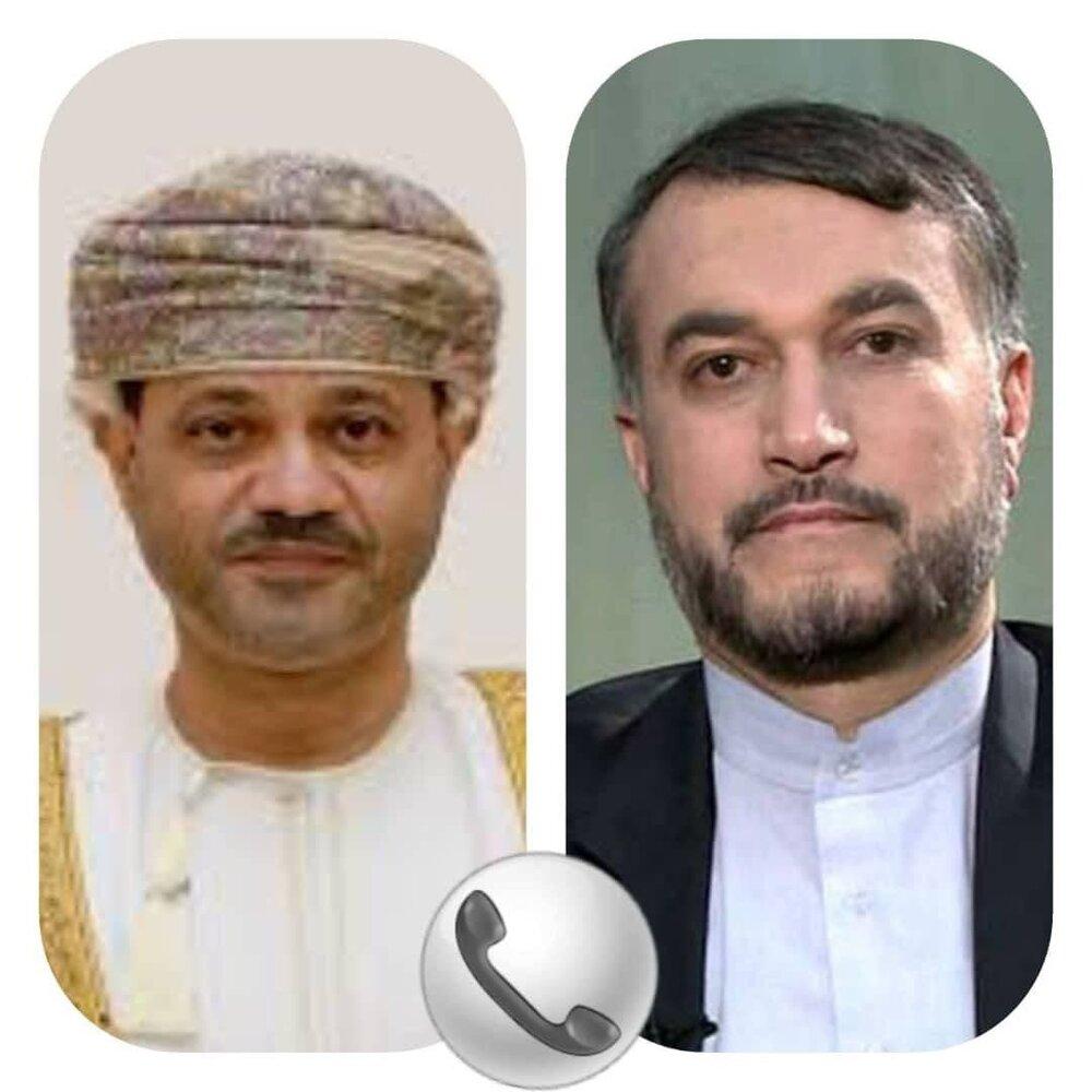 ابراز امیدواری عمان برای گسترش همکاریها در دوره امیرعبداللهیان