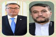 وزير خارجية كازاخستان يؤكد على تطوير العلاقات بين بلاده وايران