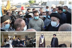 صدر رئیسی کا پہلا صوبائی دورہ/صوبہ خوزستان کے اہم مسائل کا قریب سے جائزہ