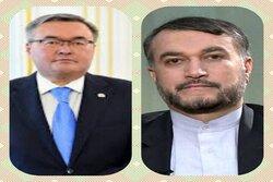 آماده توسعه همکاریهای ایران و قزاقستان هستیم