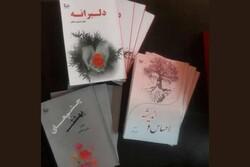 ۳ مجموعه شعر از شاعر زرین دشتی منتشر شد
