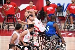 باخت تیم ملی بسکتبال با ویلچر برابر بریتانیا