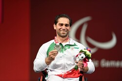 Iran bags 1st medal in powerlifting in Tokyo 2020 Paralympics