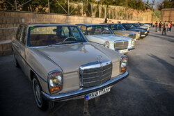 Classic and historical cars in Shiraz