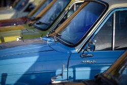 Şiraz'da klasik araba modelleri segilendi