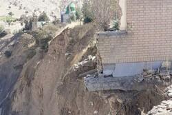 خطر تخریب و ریزش زمین زیر پای گلزار شهدا/ قلب دردمند مردم و خانوادهها
