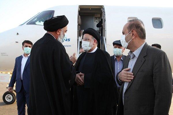 صدر ابراہیم رئیسی خوزستان کے دورے پر اہواز پہنچ گئے/ عوام کے مسائل کا قریب سے جائزہ
