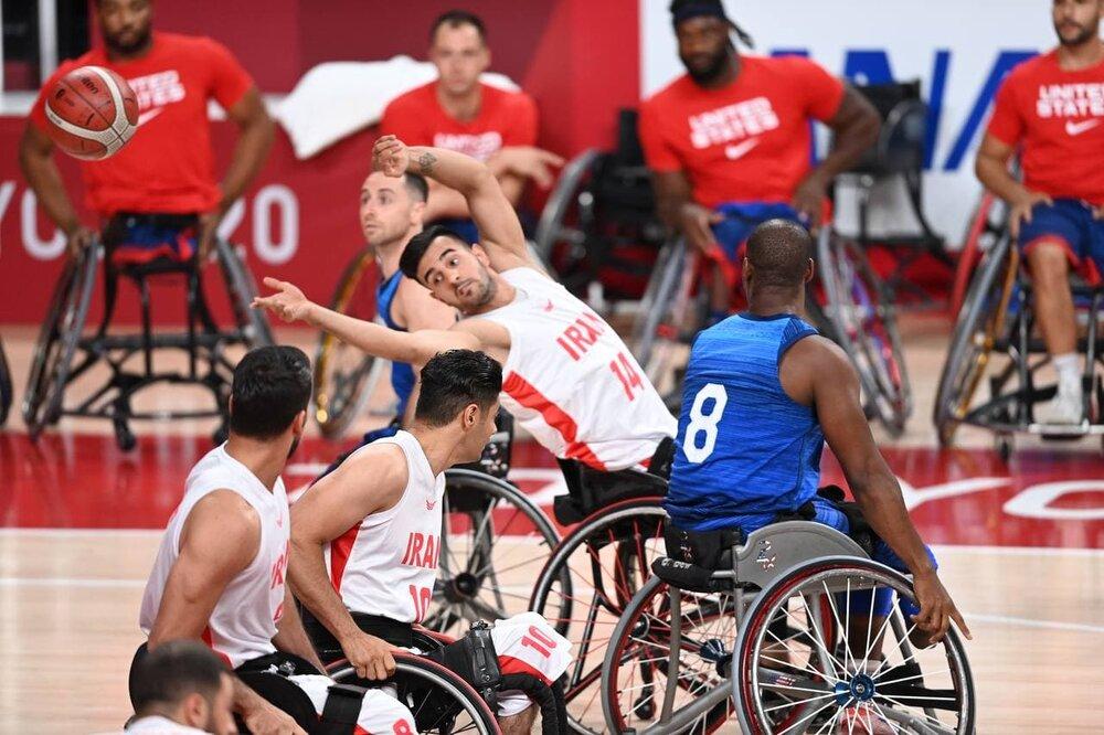 حذف تیم ملی بسکتبال با ویلچر ایران از با شکست مقابل بریتانیا
