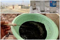 آب شرب روستای کُشکو سیاه است/  دستگاه کف کش باعث تغییر رنگ شد