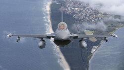 جنگندههای اف ۱۶ ترکیه در لهستان مستقر شدند