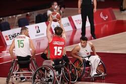 تیم ملی بسکتبال با ویلچر ایران - الجزایر