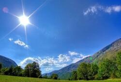 افزایش نسبی دمای هوا در استان اردبیل از روز دوشنبه هفته جاری