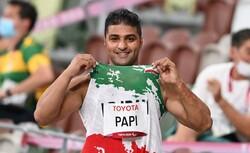 Papi wins 3rd medal for Iran at Tokyo Paralympics
