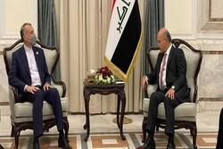 وزير الخارجية الايراني: التدخل الاجنبي في المنطقة يزعزع استقرارها