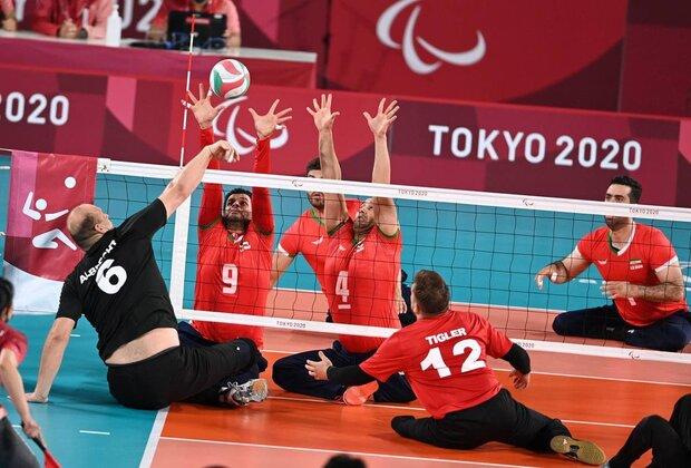 Iran's sitting volleyball team wins Germany